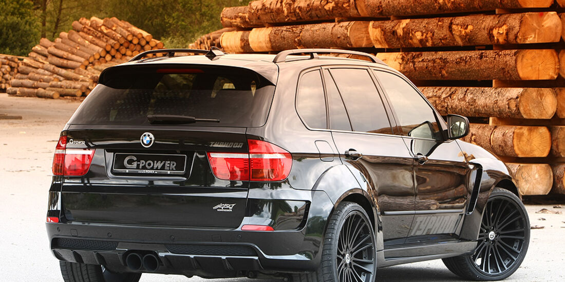 G-Power, BMW, X5, Tuning, Black Pearl