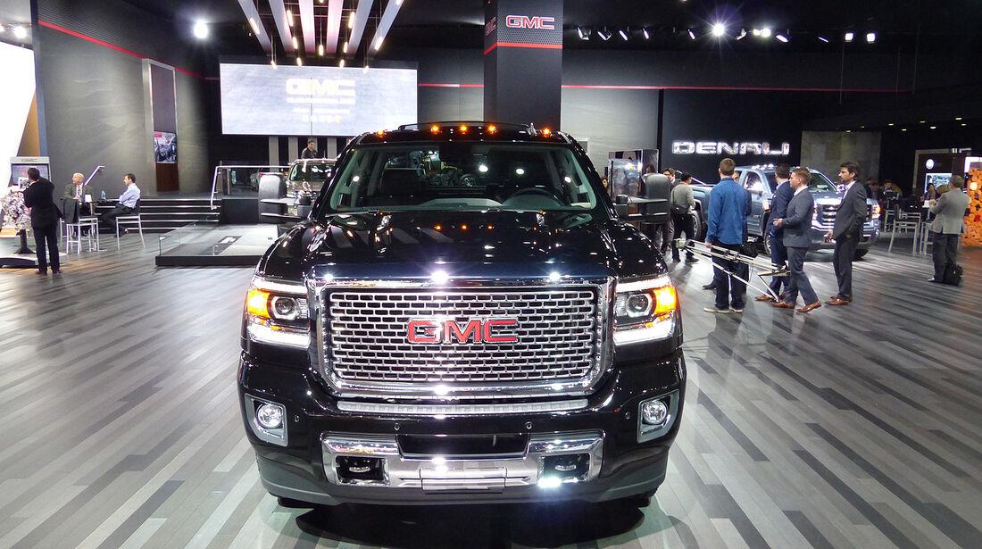GMC Sierra Denali HD, NAIAS 2014, Detroit Motor Show