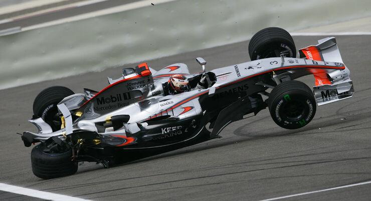 GP Bahrain 2006 Räikkönen Crash