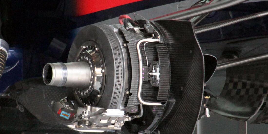 GP Bahrain 2013 Red Bull Achse