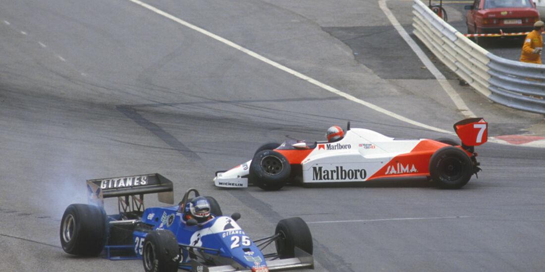 GP Belgien 1983 John Watson Jean Pierre Jarier
