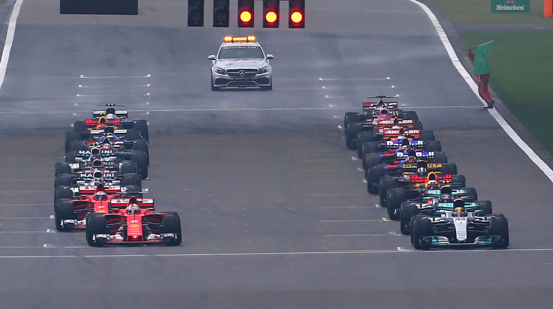 GP China 2017 - Shanghai - Start