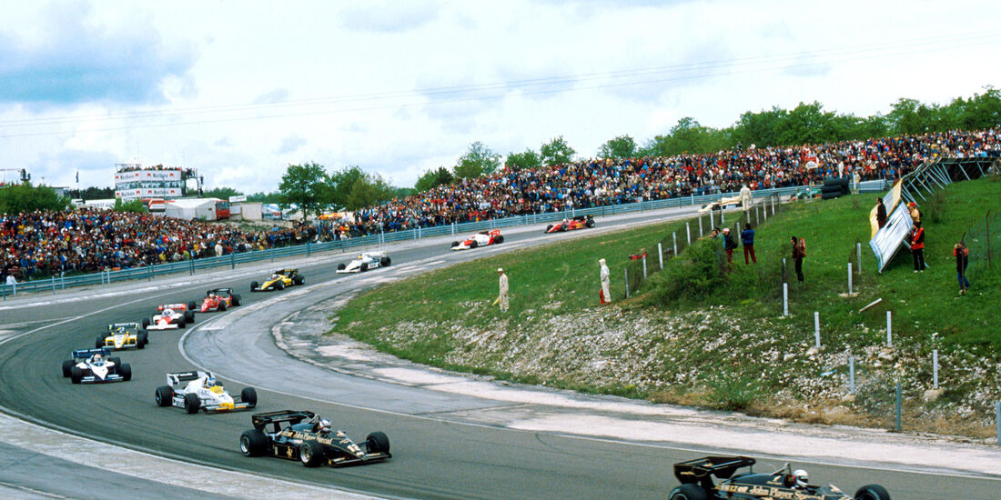 GP Frankreich 1984 - Dijon