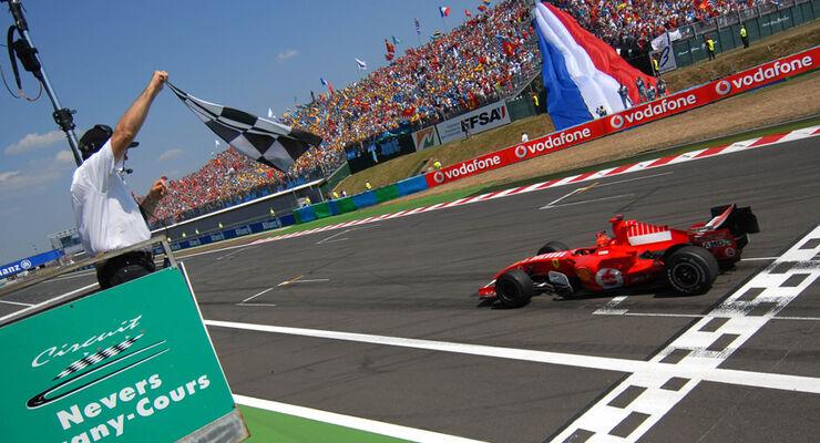 GP Frankreich Schumacher