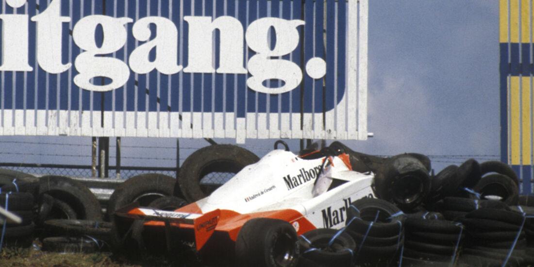 GP Holland 1981 Andrea de Cesaris