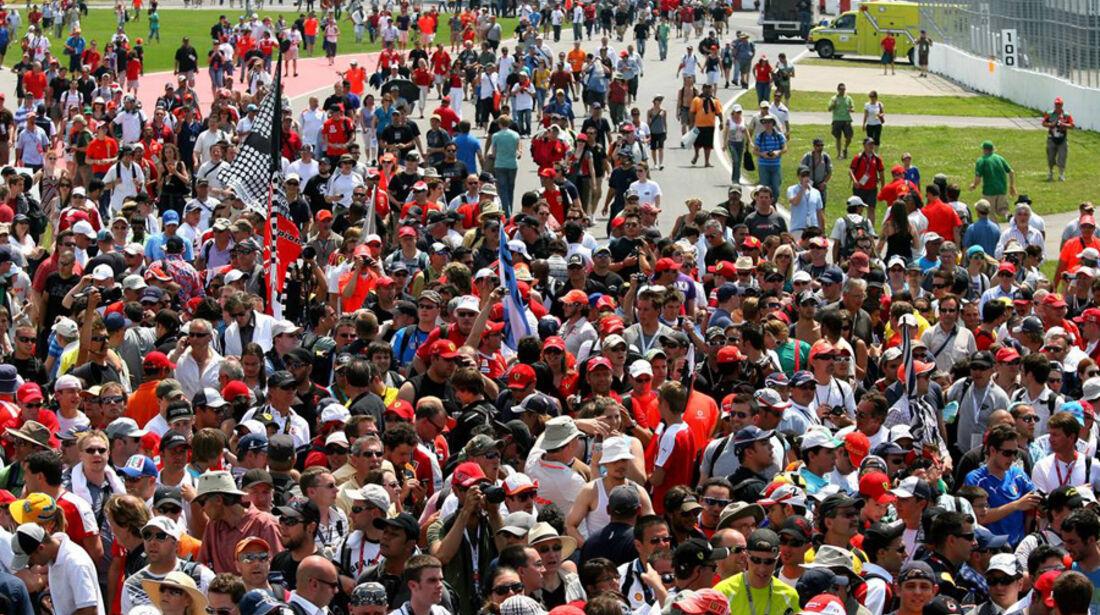 GP Kanada 2010 Fans