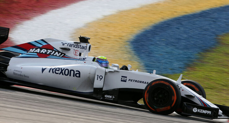 GP Malaysia - Felipe Massa - Williams - Qualifikation - Samstag - 28.3.2015