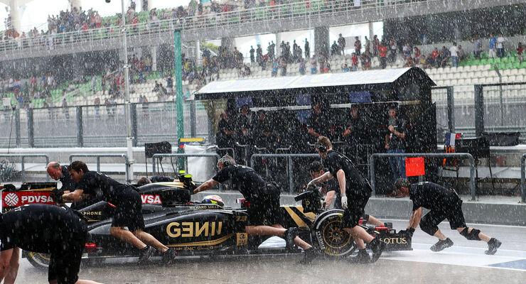 GP Malaysia - Pastor Maldonado - Lotus - Qualifikation - Samstag - 28.3.2015