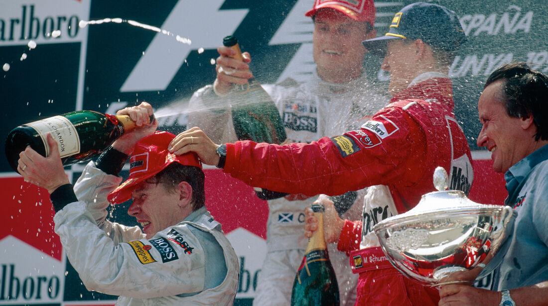 GP Spanien 1999 Podium