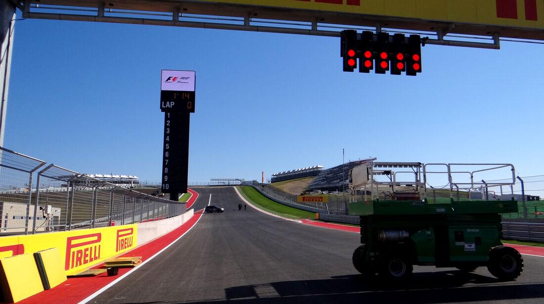 GP USA 2012 Austin Strecke