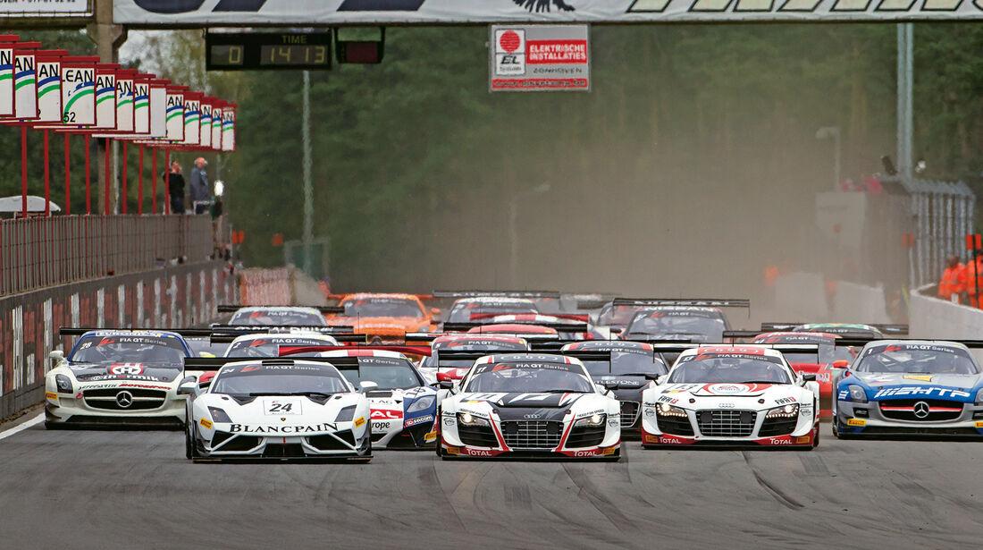 GT Sprint-Series, Rennszene, Start