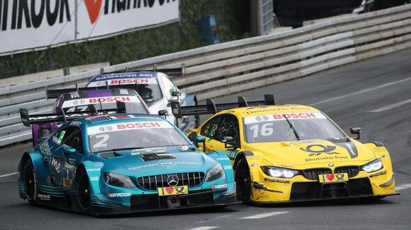 Gary Paffett - Timo Glock - DTM - Norisring 2018