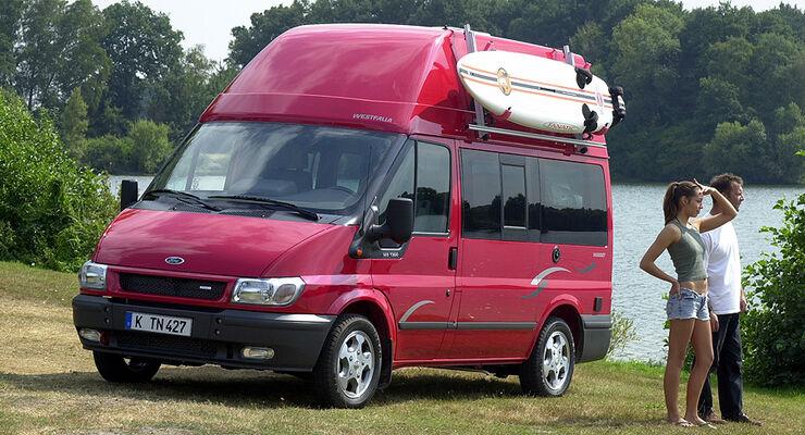 ford campingbus gebraucht verkauft ford transit camper. Black Bedroom Furniture Sets. Home Design Ideas