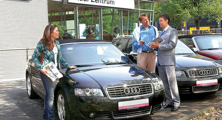 Gebrauchtwagenratgeber, Kaufberatung