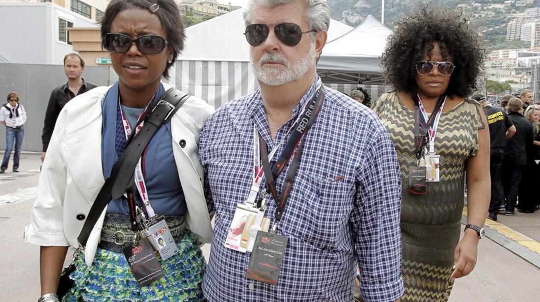 George Lucas beim GP Monaco