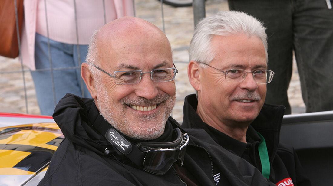Gerd Hildebrand und Bernd Ostmann
