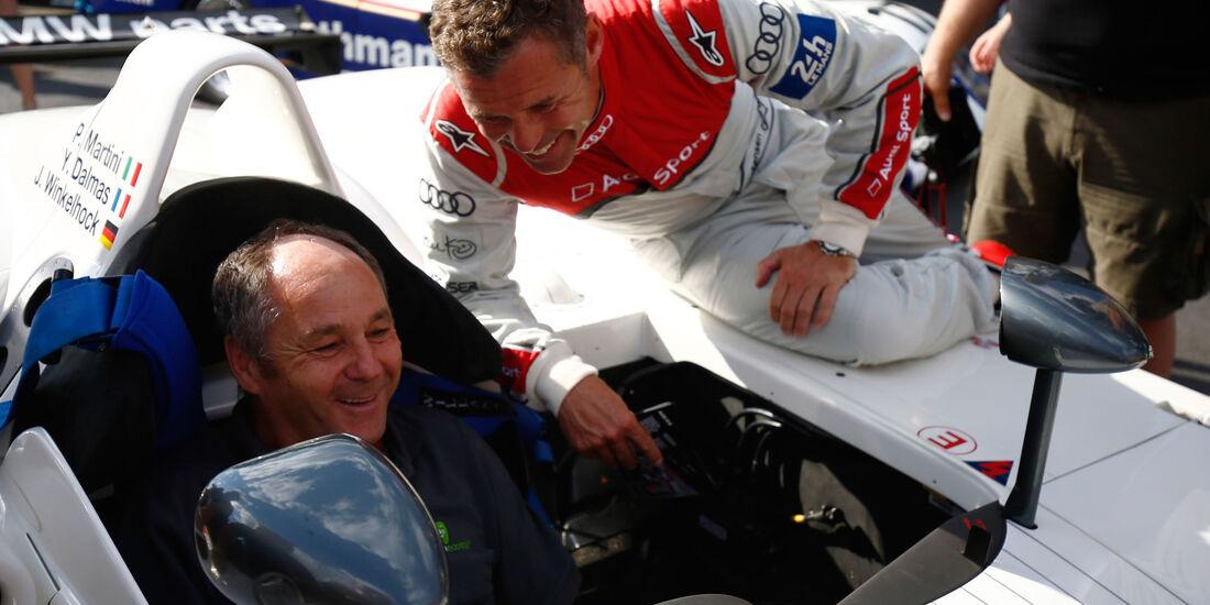 Gerhard Berger - Tom Kristensen - Legendenparade - GP Österreich 2017 - Spielberg
