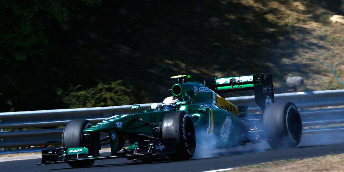 Giedo van der Garde - Caterham - Formel 1 - GP Ungarn 2013