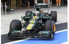 Giedo van der Garde - Caterham - Young Drivers Test - Abu Dhabi - 7.11.2012