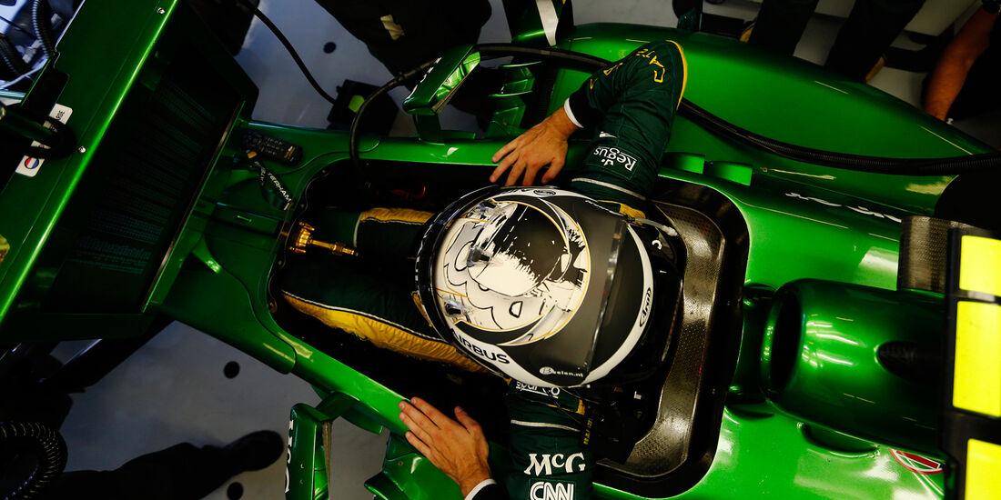 Giedo van der Garde - GP Abu Dhabi 2013