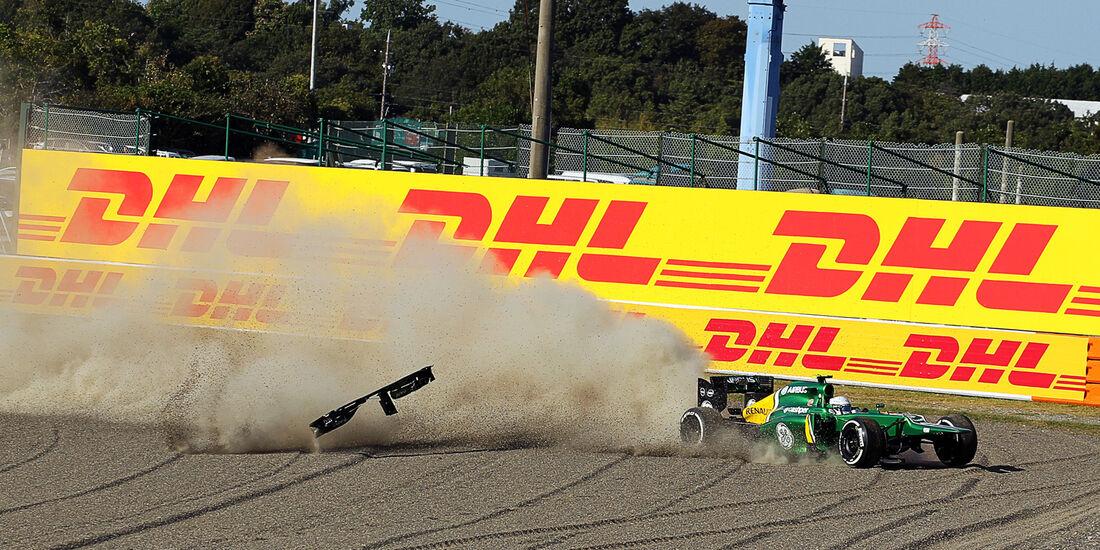 Giedo van der Garde - GP Japan 2013