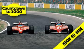 Gilles Villeneuve - Didier Pironi - Ferrari 126C2 Turbo - Imola 1982
