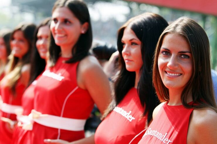 Girls - Formel 1 - GP Italien - 09. September 2012