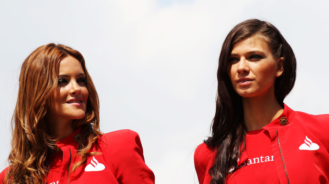 Girls - Formel 1 - GP Spanien - 11. Mai 2013
