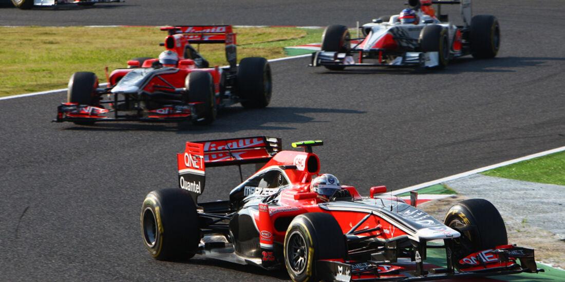 Glock D'Ambrosio Virgin GP Japan 2011
