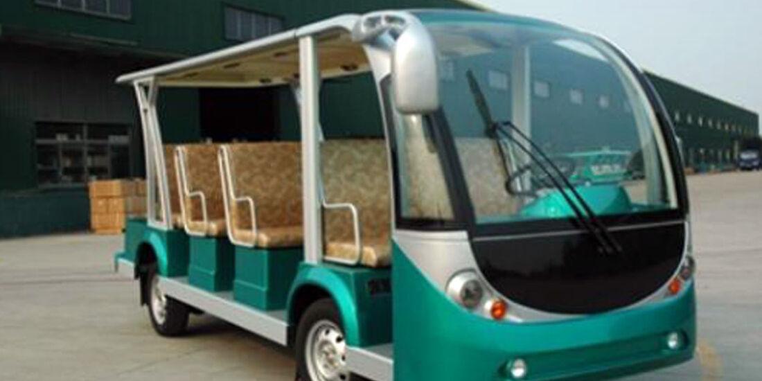 Golf Car Super Shuttle Bus
