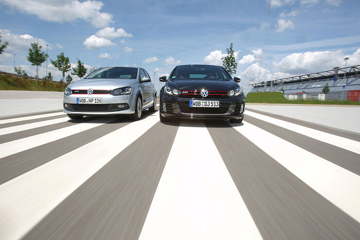 Golf GTI vs. Polo GTI