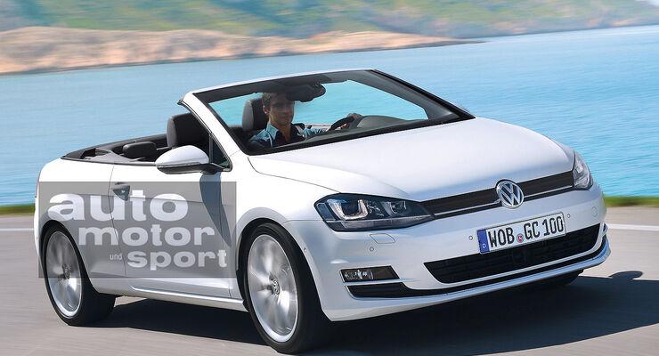 Golf Varianten, Cabrio