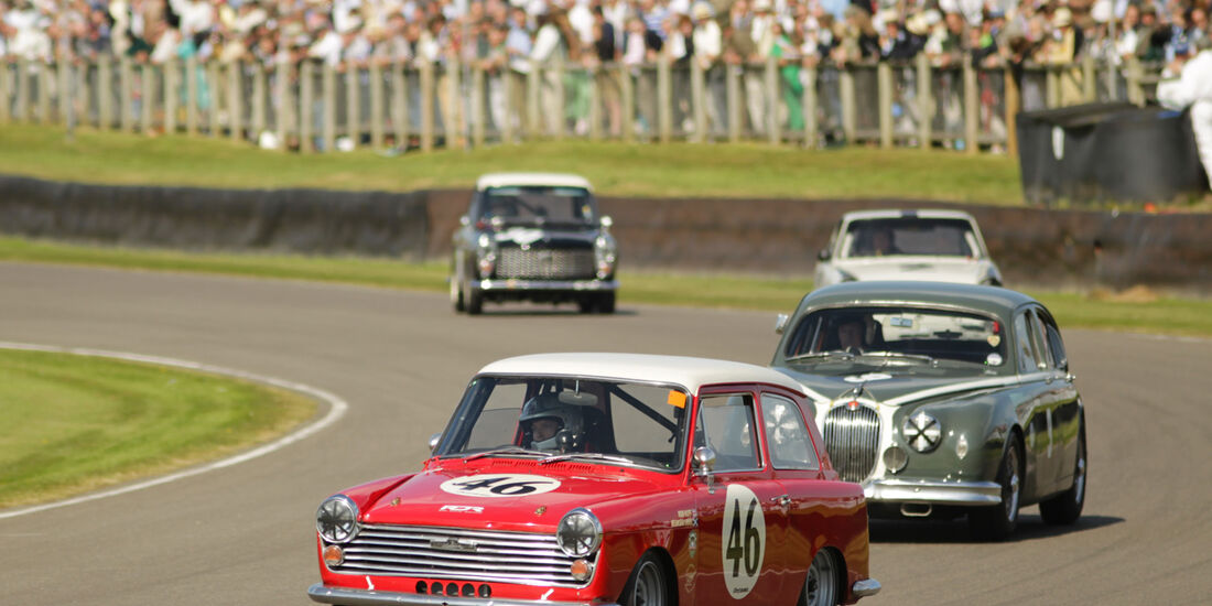 Goodwood Revival Meeting, Austin A40, Rob Huff