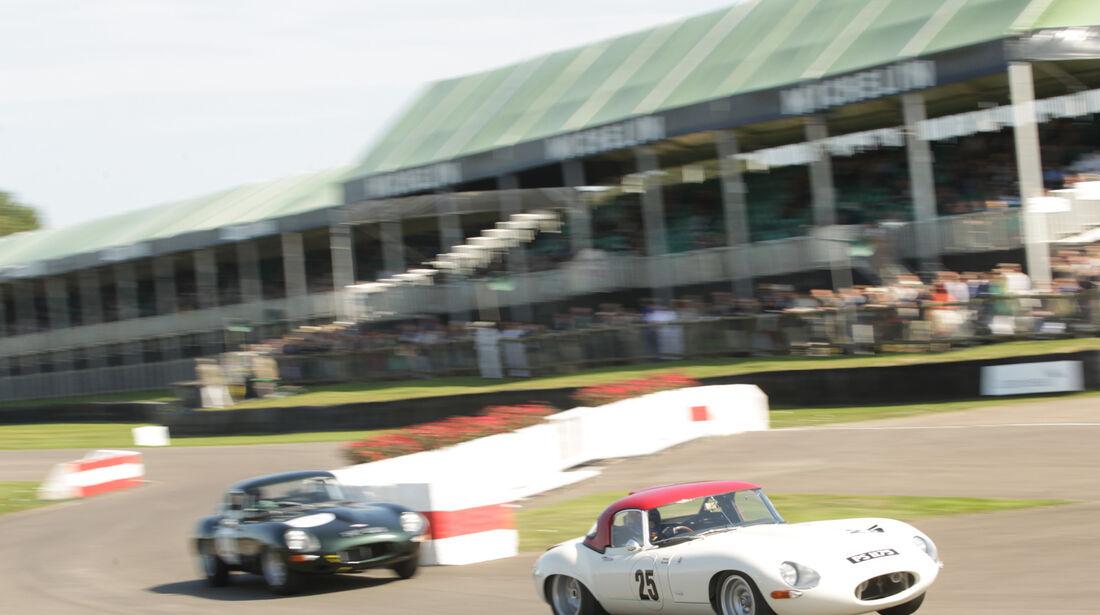 Goodwood Revival Meeting, Jaguar C-Type