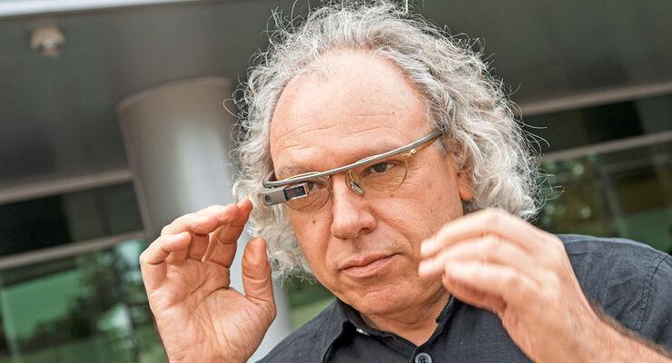 Google-Brille, Alexander Mankowsky