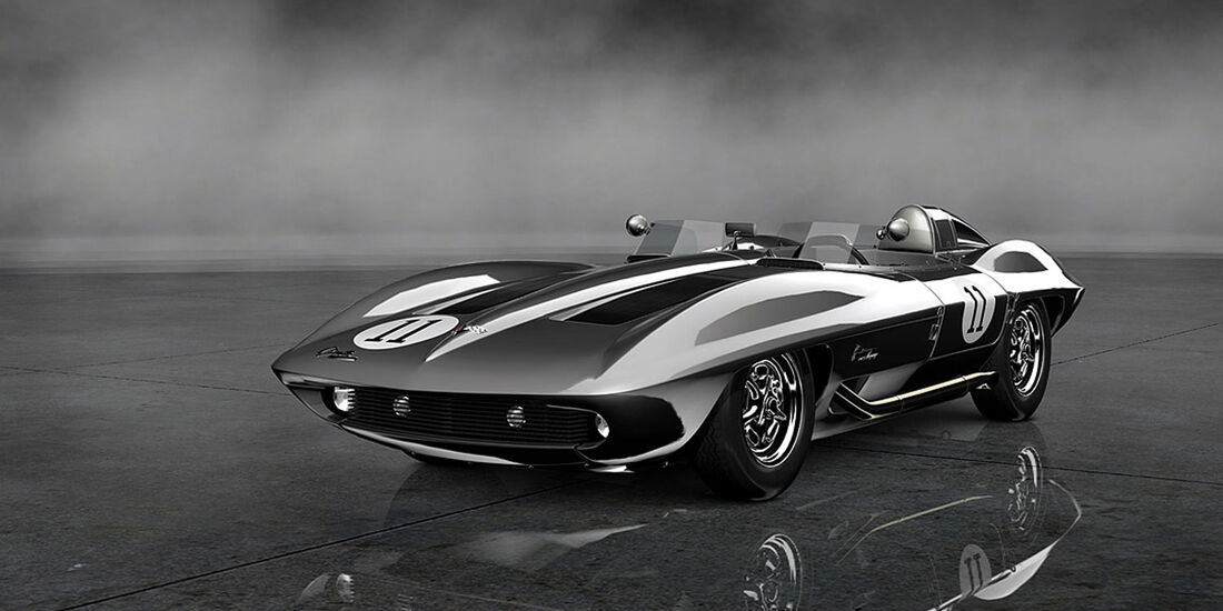 Gran Turismo 6 - Chevrolet Corvette StingRay Racer Concept '59