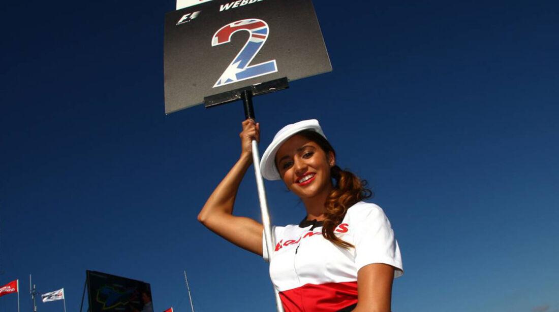 Grid Girl GP Australien 2011