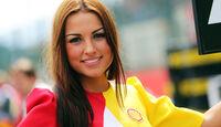 Grid Girl - GP Belgien 2014