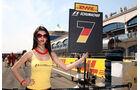 Grid Girl Impressionen GP Türkei 2011