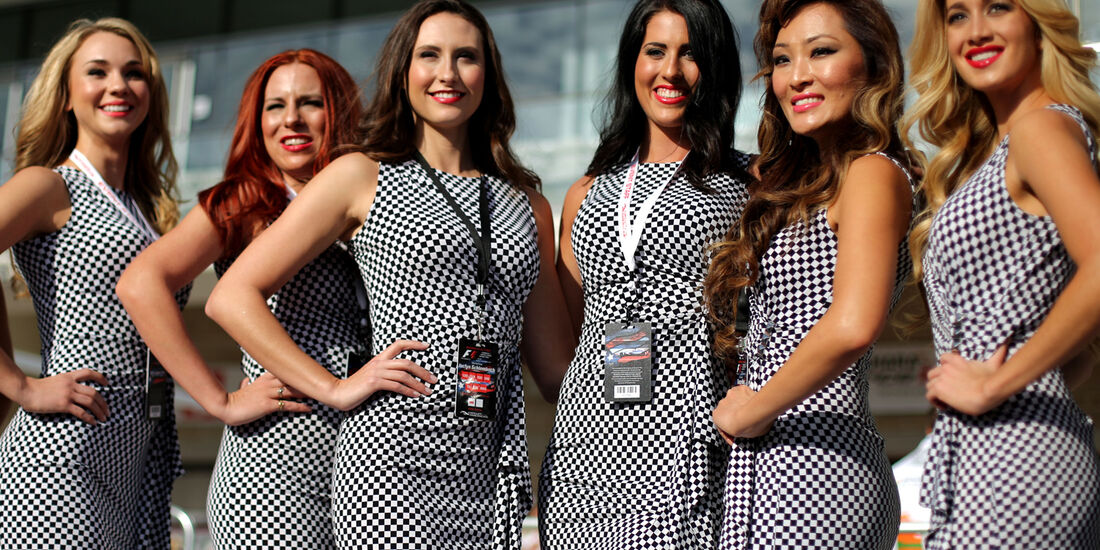 Grid Girls - Formel 1 - GP USA - 14. November 2013