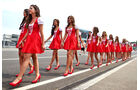 Grid Girls - Formel 1 - GP Ungarn - 2016