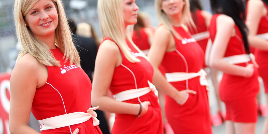 Grid Girls GP Deutschland 2012