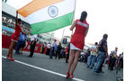 Grid Girls GP Indien 2011
