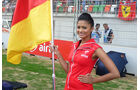 Grid Girls - GP Indien 2015