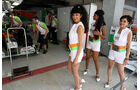 Grid Girls - GP Indien 2037