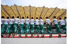 Grid Girls - GP Malaysia 2014 - Formel 1