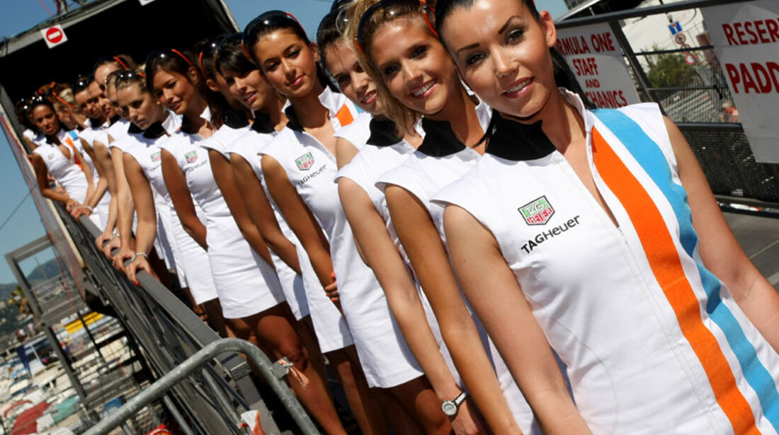 Grid Girls GP Monaco 2011