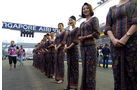 Grid Girls - GP Singapur 2014
