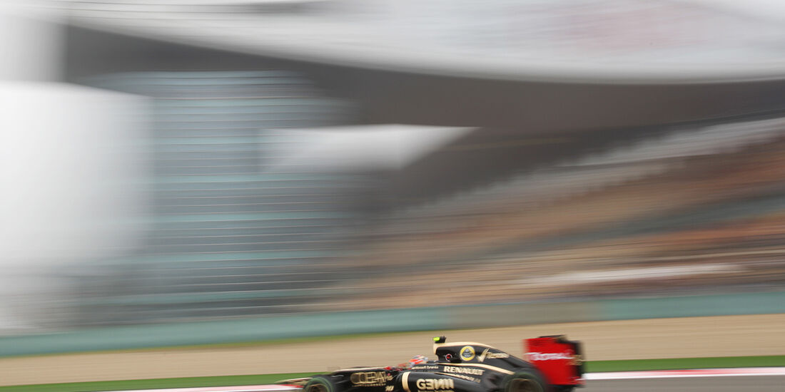 Grosjean - Formel 1 - GP China - 13. April 2012