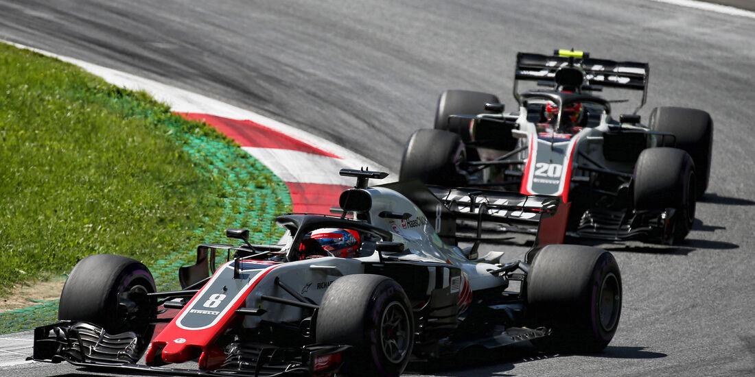 Grosjean & Magnussen - GP Österreich 2018
